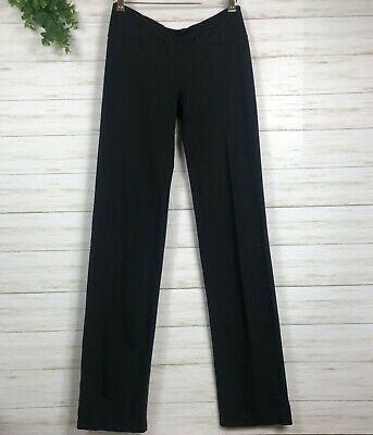 WOMEN'S LULULEMON WORKOUT YOGA ACTIVEWEAR PANTS LOUNGE BLACK SZ 8 MEDIUM