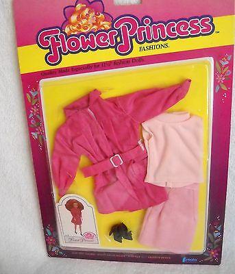 "#8988 NRFC Vintage Creata Flower Princess 11 1/2"" Doll Clothes Fashion"