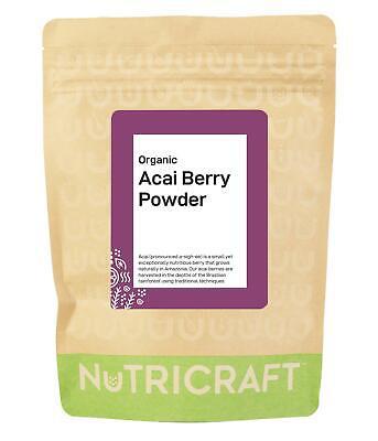 Organic ACAI berry powder by NUTRICRAFT™ - Brazilian freeze dried