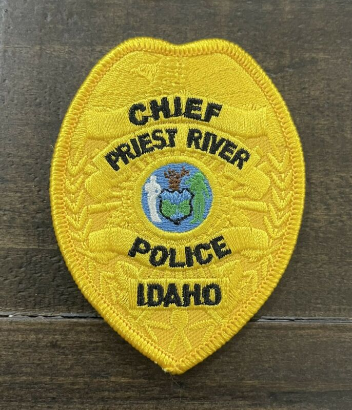 Priest River, Idaho Chief Police Patch, ID Patch