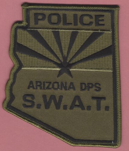ARIZONA DEPARTMENT OF PUBLIC SAFETY POLICE SWAT TEAM PATCH