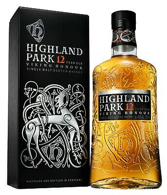 HIGHLAND PARK 12 Jahre Viking Honour   Orkney Single Malt Whisky   40,0%   0,7 L