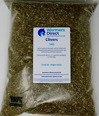 CLIVERS EQUINE HERB SUPPLEMENT FOR HORSES 1KG AID FOR URINARY INFECTIONS
