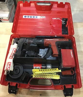 Hilti Dx351 Powder Actuated Tool Nail Gun Fastener Euc