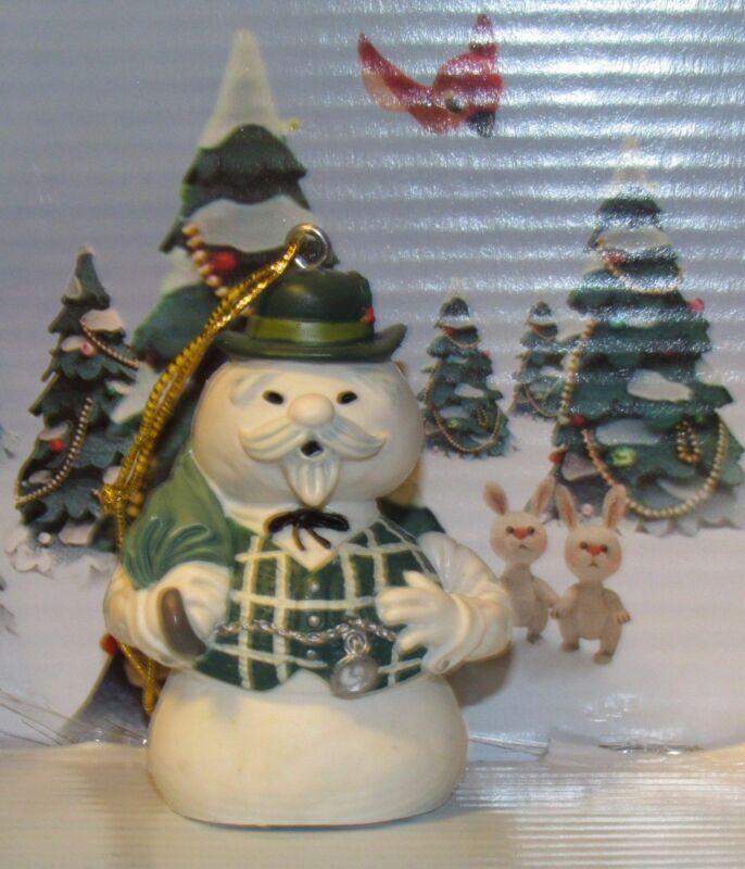 "Rudolph Island of Misfit Toys Sam the Snowman 2.5"" PVC Ornament Figure Figurine"
