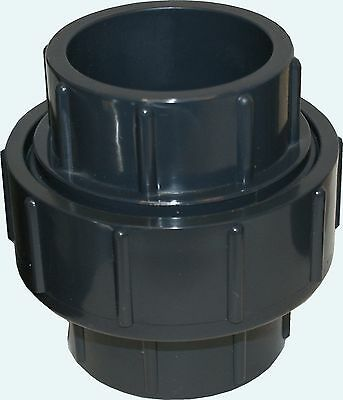 New Sch 80 Pvc 1-12 Inch Union Socket Connect New Sch 80 Pvc