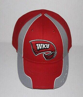 WKU Western Kentucky University Hilltoppers Adjustable Hat 3D Embroidered Cap ()