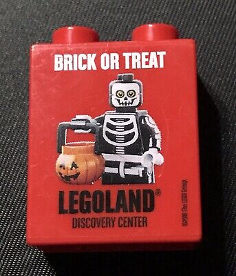 LEGO Brick or Treat Halloween Brick From Legoland Discovery Center Exclusive RED