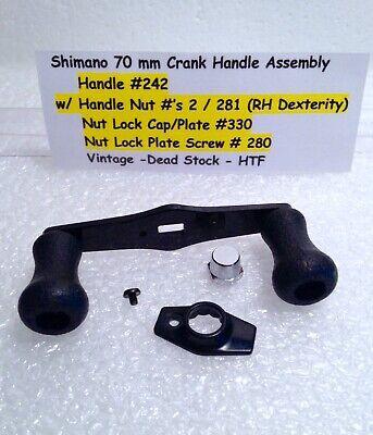 SHIMANO REEL PART TGT0170 Triton Speedmaster TSMIIIFS Handle Nut Plate Screw