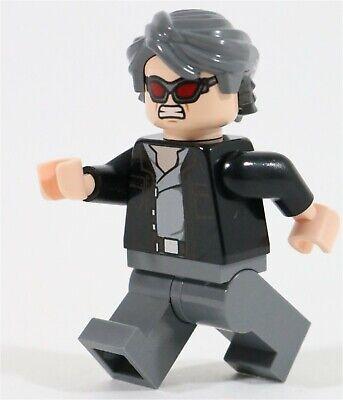 LEGO X-MEN QUICKSILVER MINIFIGURE APOCALYPSE SUPERHEROES - MADE OF GENUINE LEGO