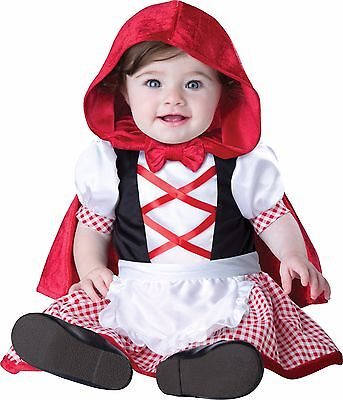 Infant Baby Girl Little Red Riding Hood Costume - Red Riding Hood Kostüm Baby