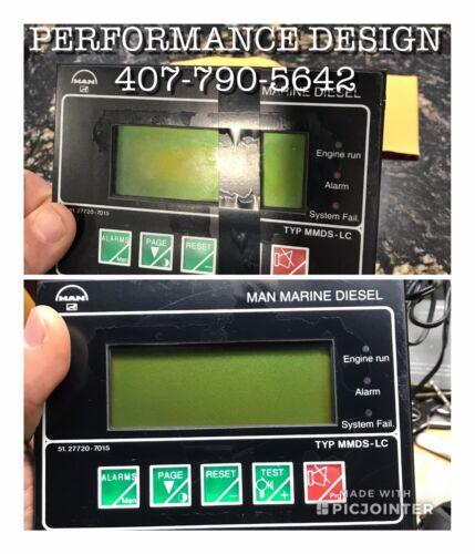 MAN MARINE DIESEL ELECTRONIC DISPLAYS LCD RESTORATION