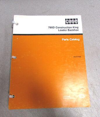 Case 780d Construction King Loader Backhoe Parts Catalog Manual Bur 8-4180 1988