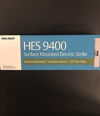 Hes 9400 Surface Mount Electric Strike 1224vdc