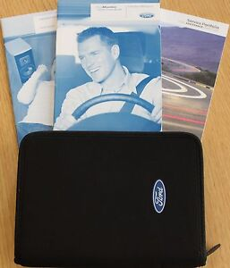 FORD MONDEO 2007- 2013 HANDBOOK OWNERS MANUAL PACK WALLET + SE