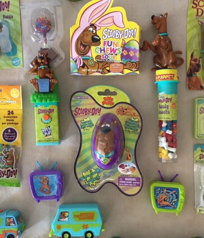 Scooby Doo Lot Silly Putty & More