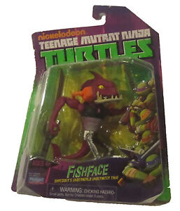 Teenage Mutant Ninja Turtles - Fish Face Action Figure TMNT Nickelodeon