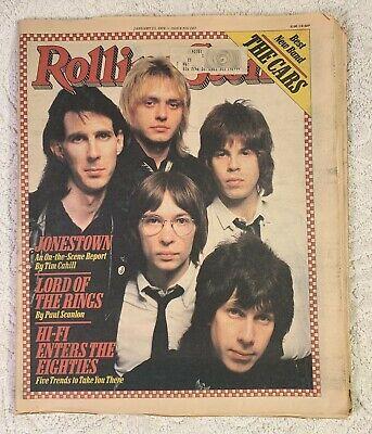 Rolling Stone Magazine #283 January 25, 1979 The Cars Best New Band Ocasek Orr