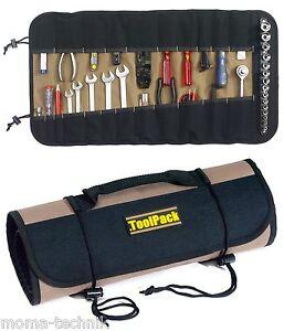 Werkzeugrolltasche Toolpack Rolltasche Werkzeugtasche Tasche  22 Fächer 360.062