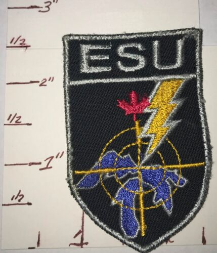 Sault Ste Marie Patch Ontario Canada RARE Tactical / ESU patch  obsolete