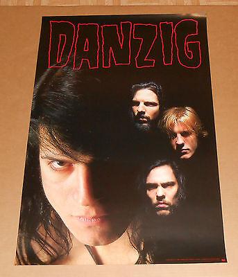Danzig II - Lucifuge Promo1990 Original Poster Band Shot Misfits 24x36