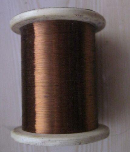 "25,0  m. MANGANIN  WIRE 0.03 mm/ 0.0012"" Insulation - Enamel ."