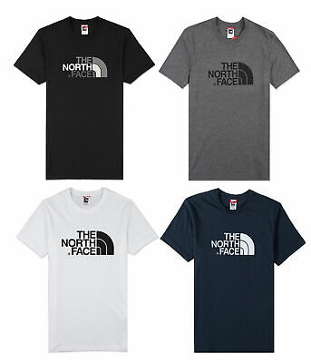 Mens Tnf North Face Cotton Jersey Easy Face Short Sleeve T-shirt Top