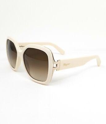 Salvatore Ferragamo Sunglasses SF781S IVORY Women 56x15x135