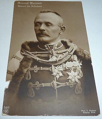 General Boroevic von Bojna AUTOGRAMM Feldpost K.u.K. Oberkommando 1916 Teplitz