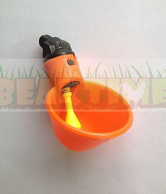 Chicken Waterer Cup drinker poultry water new bracket plastic automatic drink