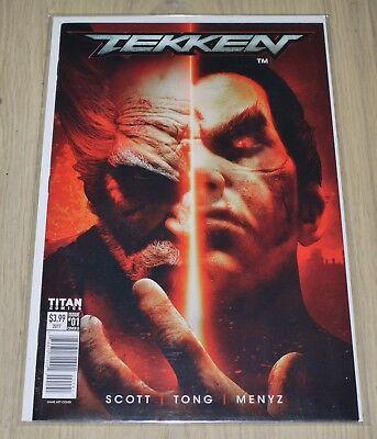 Tekken: Blood Feud #1 - Cover D (June 2017) Titan Comics