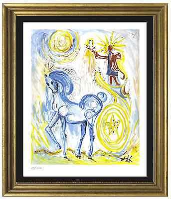 """Salvador Dali Signed/Hand-Numbrd Ltd Ed """"Horse of Triumph""""Litho Print (unframed)"""