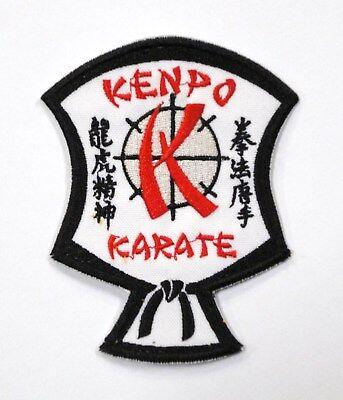 Kenpo Karate Shield Patch 3.25