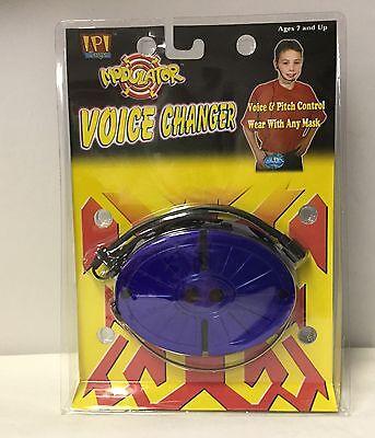 Voice Changer Modulator Sound Effects Halloween mask Voice - Halloween Voice Changer
