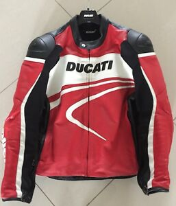 Ducati Sport C2 Perforated Leather Jacket by Dainese