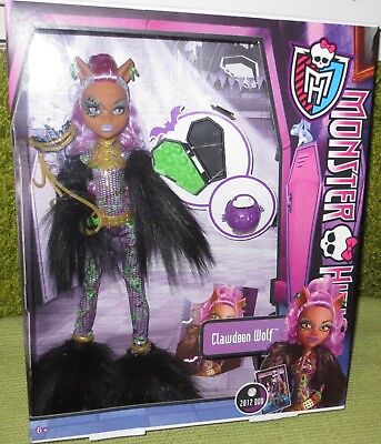 Monster High Clawdeen Wolf Halloween Party 2012 - Halloween Wolf Monster High Doll