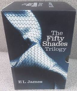 EL James Fifty Shades Trilogy 50 Shades of Grey + Darker + Freed Blakeview Playford Area Preview