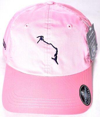 AHEAD ELEUTHERA BAHAMAS Lightweight Classic Cut Hat/Cap Pink Adjustable >NEW<
