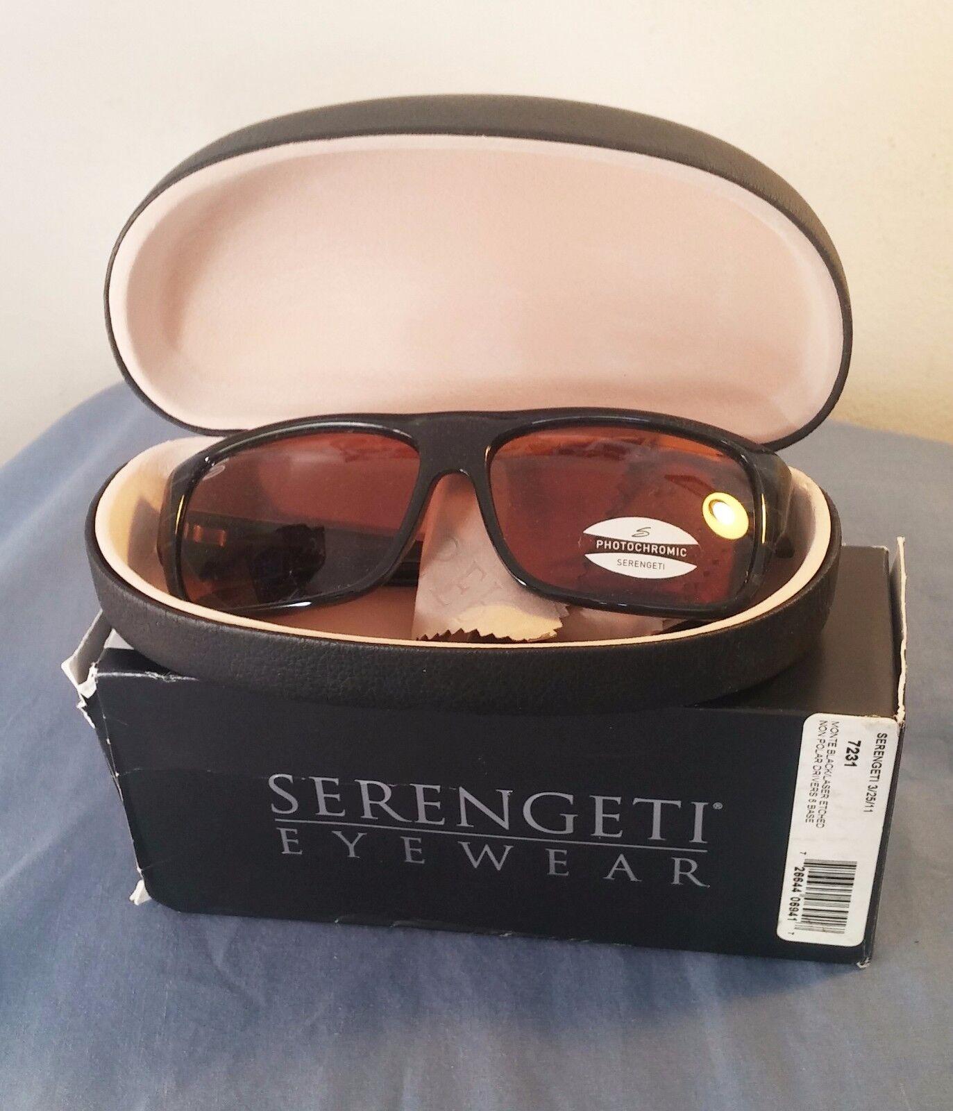 e7ed113c080c UPC 726644069417 product image for Serengeti Polarized Photochromic Monte  7230 Sunglasses Dark Tortoise/ Drivers ...