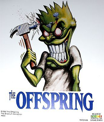 Sticker The Offspring Hammerhead Song Art Punk Rock Band Music Decal