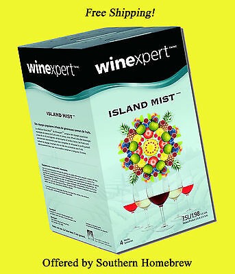 Island Mist Black Raspberry Merlot Wine Making Kit