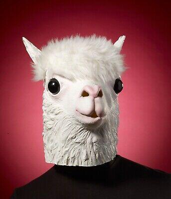 Llama Adult Latex Mask - Llama Mask