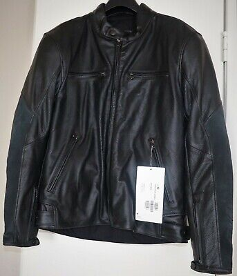 Dainese Stripes D1 Perforated Leather Jacket size 54