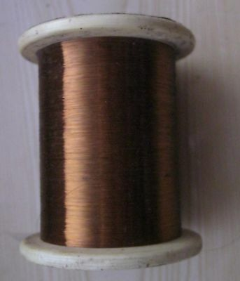 250 M. Manganin Wire 0.03 Mm 0.0012 Insulation - Enamel .