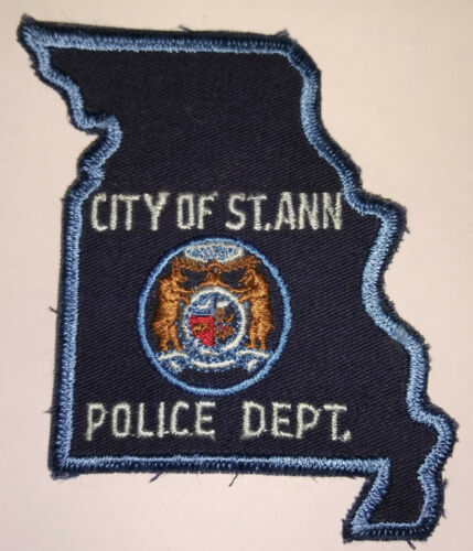St. Ann Missouri Police Patch (Old Style) // FREE US SHIPPING!