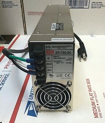 Mean Well Sp-750-24 Servo Stepper Motor Switching Power Supply Dc 24v 31.3a 750w