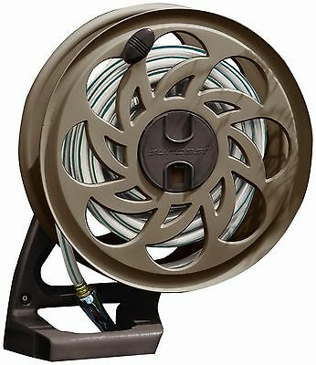 Suncast CPLSTA125B 125-Foot Sidetracker Garden Hose Reel With Guide Suncast