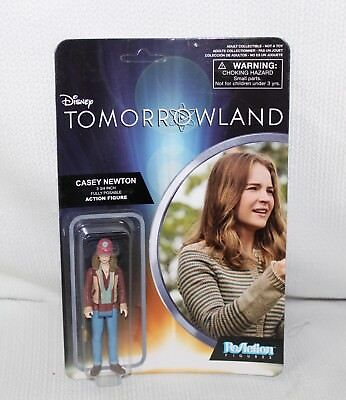 "Funky ReAction Disney ""TOMORROWLAND Casey Newton"" Action Figure Sealed NRFP"