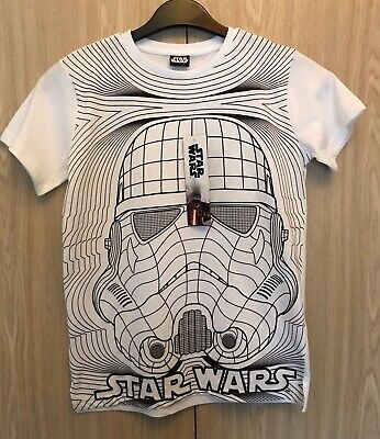 Boys Star Wars Stormtrooper T-Shirt Age 11-12 Years