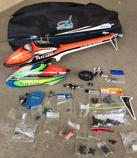 Align trex 450L with fuselage + spares
